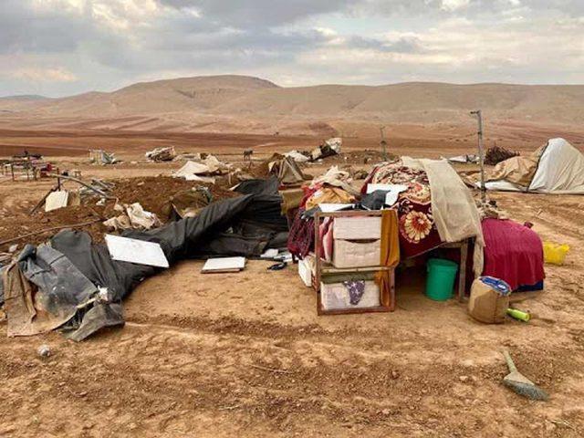"""الحكومة البريطانية تعرب عن قلقها من هدم الاحتلال خربة """"حمصة"""""""