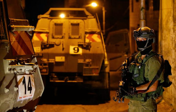 قوات الاحتلال تعتقلشابا من بلدة عناتا شرق القدس