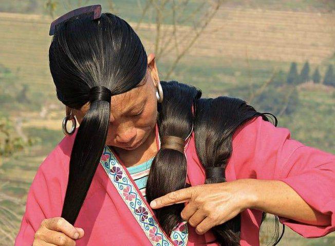 شعرهن لا يشيب ولا يقل طوله عن مترين ما هو السر؟
