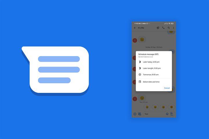 غوغل تطلق ميزة جدولة الرسائل القصيرة