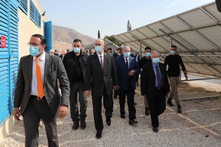 إفتتاح محطة النجاح الاولى للطاقة الشمسية