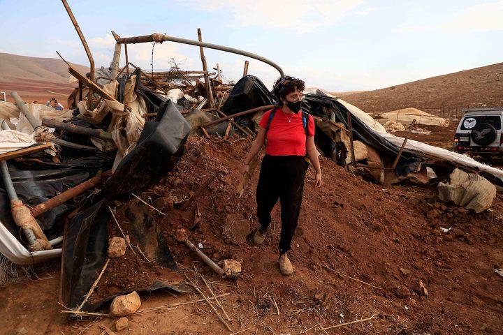 التجمع البدوي حمصة البقيع شرق طوباس