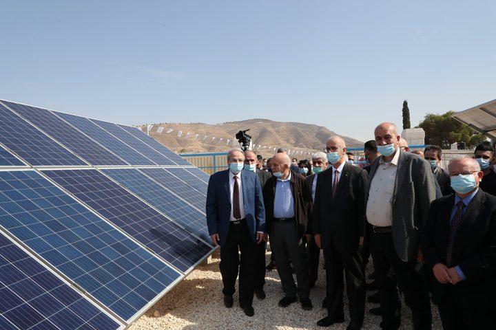 إفتتاح محطة النجاح الأولى للطاقة الشمسية