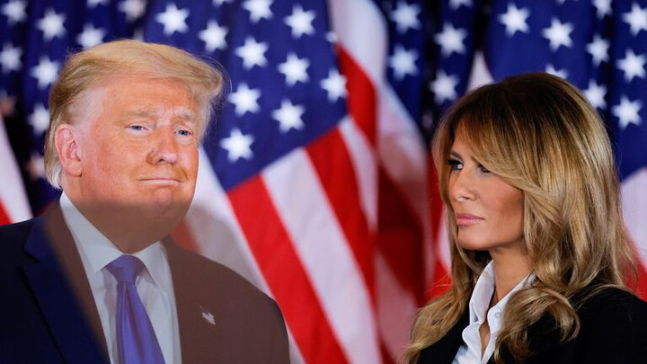 ميلانيا تنصح ترامب بالاعتراف بهزيمته أمام بايدن