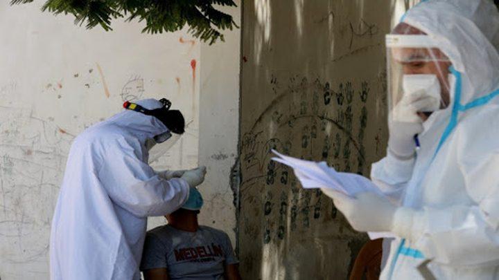 حالة وفاة و201 إصابة بكورونا في غزة