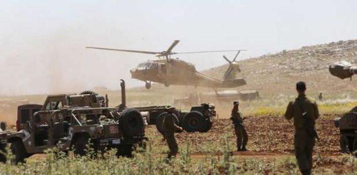 """قوات الاحتلال تبدأ مناورات واسعة بـ""""غلاف غزة"""""""
