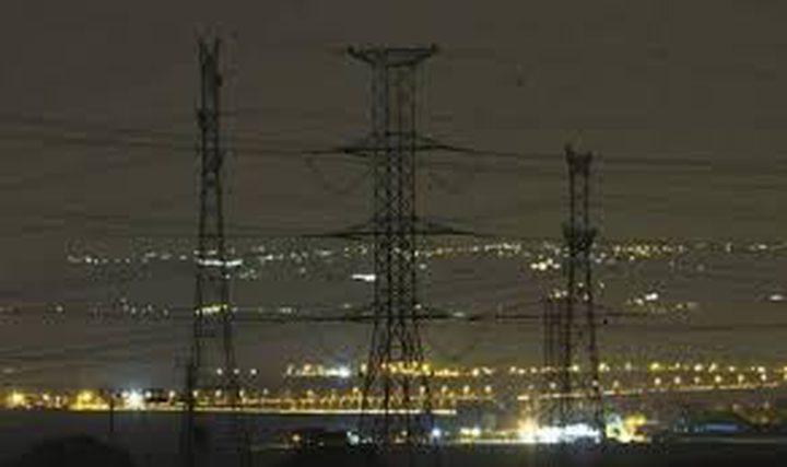 قطع التيار الكهربائي عن المنطقة الغربية من مدينة نابلس غداً