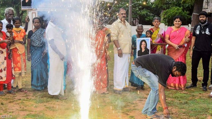 """قرية هندية تحتفل بفوز """"كامالا هاريس"""" بالانتخابات الأمريكية"""
