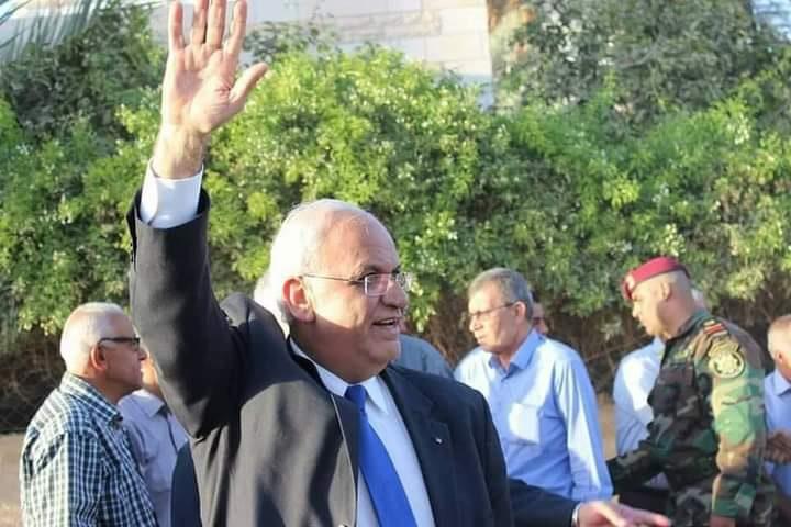 قيادات وأحزاب فلسطينية تنعى د.صائب عريقات