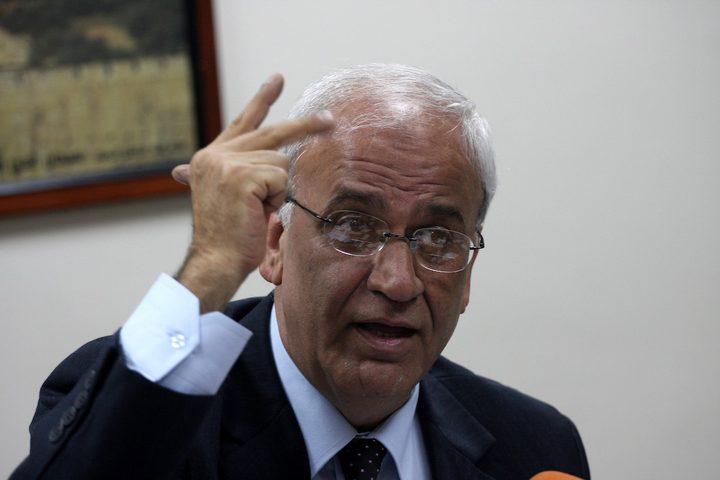 الرئيس عباس يتلقى اتصالات تعزية بوفاة د.عريقات