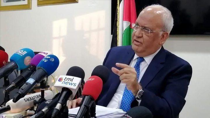 المستشار الدبلوماسي لملك البحرين ينعى د.عريقات