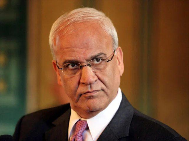 وزير الخارجية الإماراتي ينعى أمير سر اللجنة التنفيذية د.عريقات
