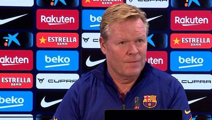 مدرب برشلونة  يشعل الجدل حول فينالدوم