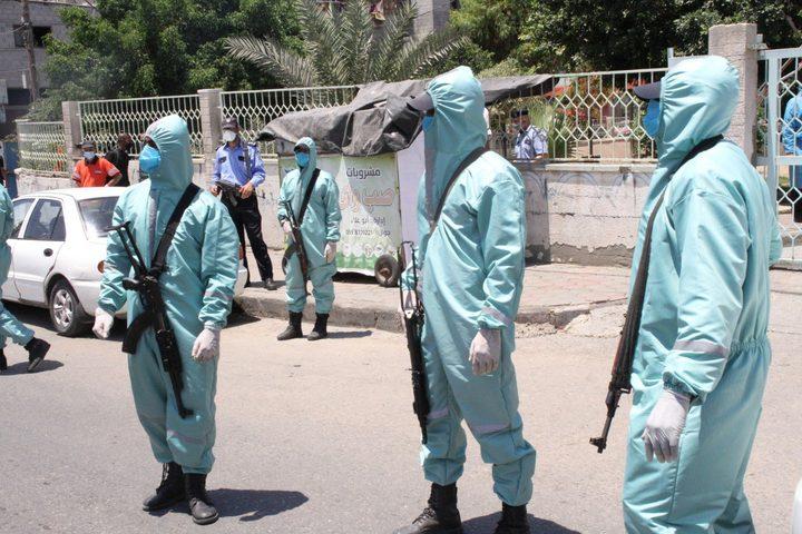 داخلية غزة تقرر تشديد اجراءات الوقاية لمنع تفشي وباء فيروس كورونا