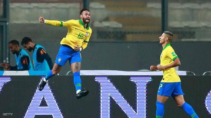 نيمار يغيب عن مبارتين مع منتخب البرازيل في تصفيات كأس العالم
