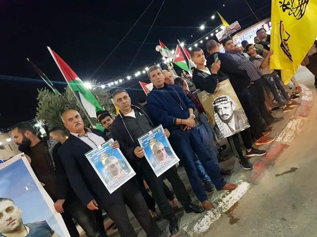 احياء الذكرى الـ 16 لاستشهاد ياسر عرفات في محافظة جنين