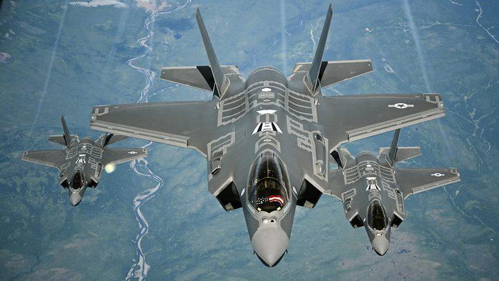 جيش الاحتلال الإسرائيلي يمتلك طائرة جديدة من طراز F35