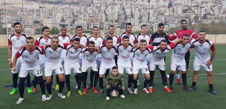 فريق عسكر يفوز بالاحتراف الجزئي على حساب كرمل يطا