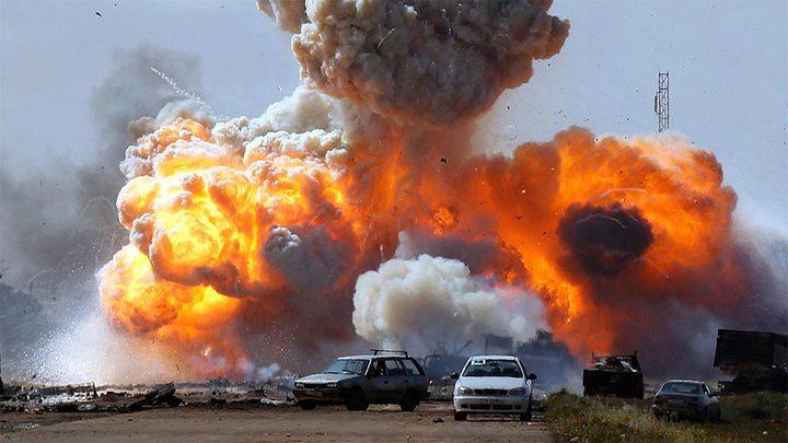 سيارة مفخخة تستهدف عربة للتحالف العربي جنوب اليمن