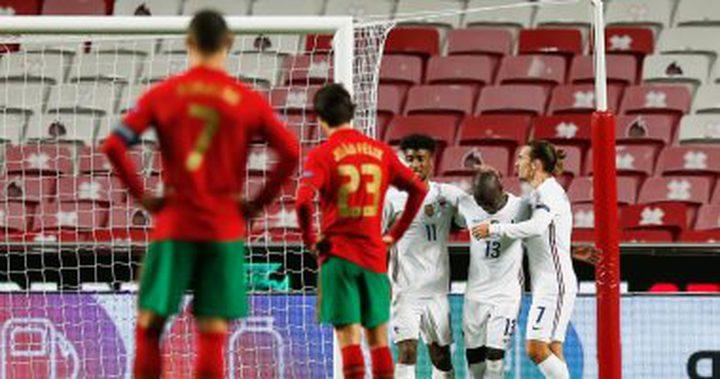فرنسا تتغلب على البرتغال في بطولة الأمم الأوروبية