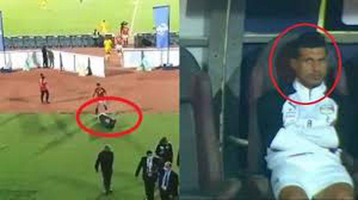 طارق حامد يثير جدلاً لدى مغادرته عقب مباراة مصر وتوغو