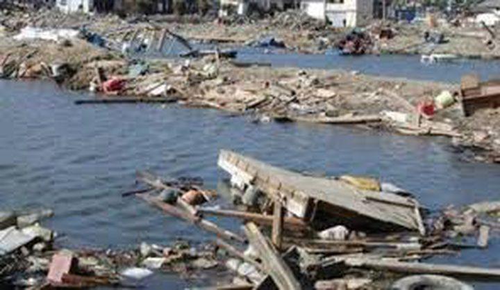 زلزال يضرب سواحل اليابان بقوة 5 درجات