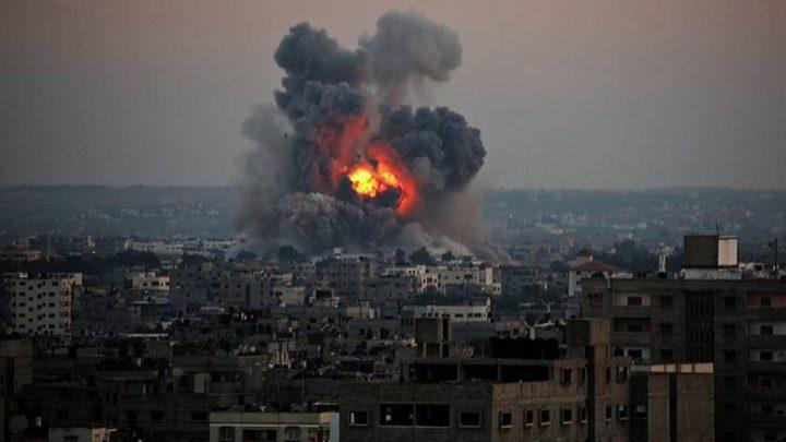 طائرات ومدفعية الاحتلال تقصف عدة مواقع في قطاع غزة