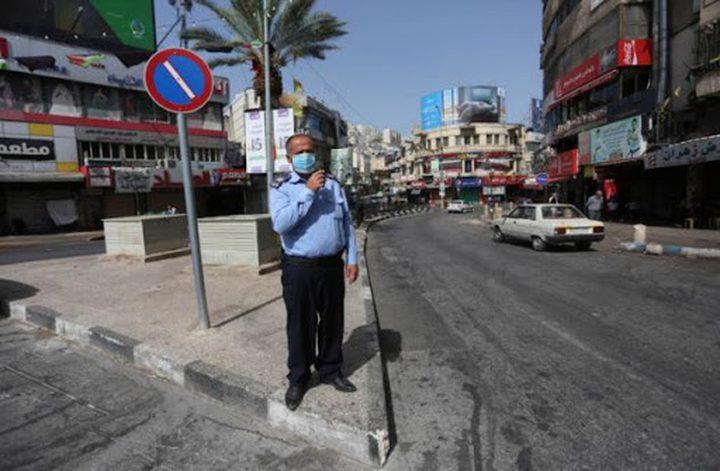 اغلاق محافظة نابلس بشكل كامل ومنع الحركة بعد الساعة 7 مساء