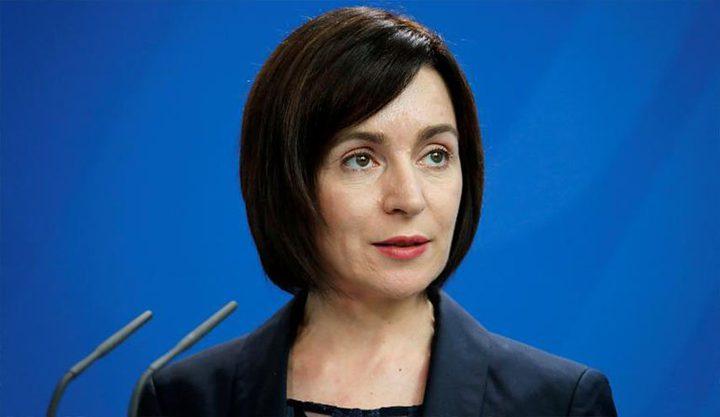 مايا ساندو تفوز بانتخابات الرئاسة في مولدوفا