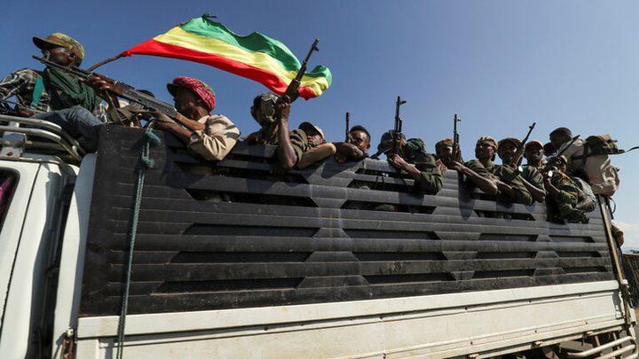 القوات الجوية الإثيوبية  تستهدف مواقع بمحيط  اقليم تيغراي