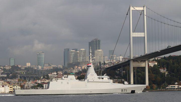 وصول السفن الحربية المصرية إلى البحر الأسود