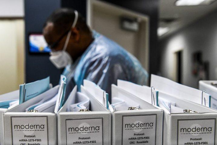 """شركة """"مودرنا"""" الأمريكية للدواء تعلن فعالية لقاحها ضد كورونا"""