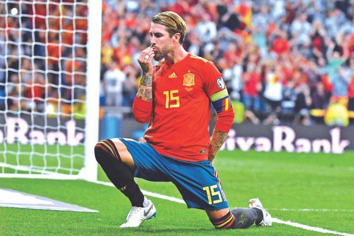راموس يكشف حقيقة اعتزاله اللعب الدولي مع المنتخب الاسباني