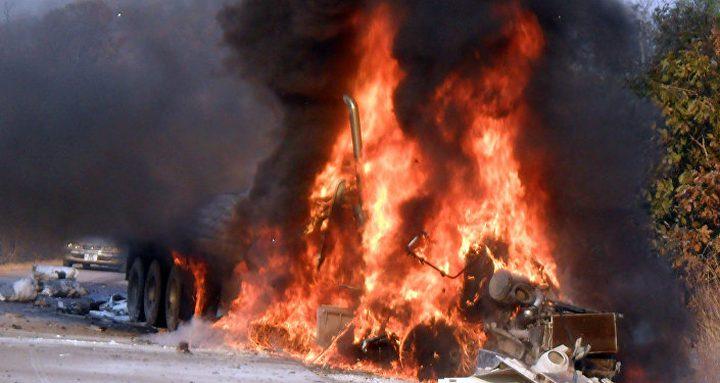 قتلى في انفجار شاحنة للغاز المسال في المكسيك