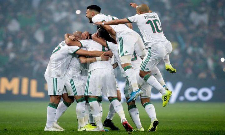 الجزائر تتأهل إلى نهائيات أمم أفريقيا 2022