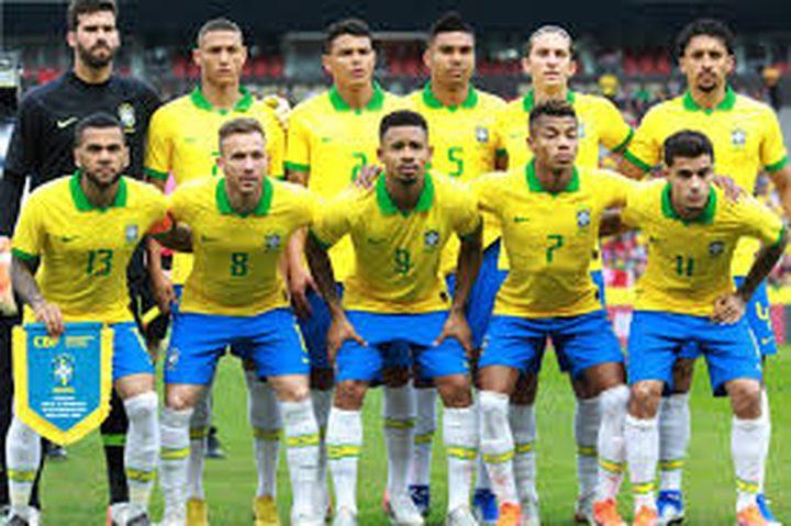 البرازيل تتغلب على الأوروغواي بهدفين نظيفين