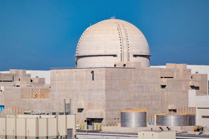 الإمارات: براكة للطاقة النووية تصل إلى 80% من قدرتها الإنتاجية