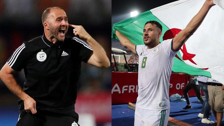 بلماضي يحسم مصير  بلايلي في المنتخب الجزائري