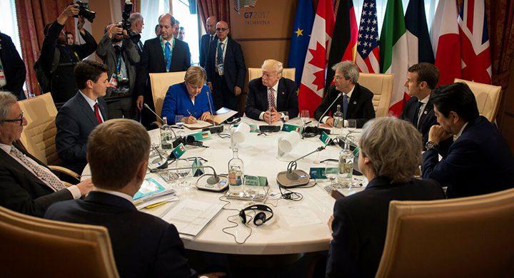 ترامب لم يخطط لإجراء اجتماع مجموعة السبع الكبار