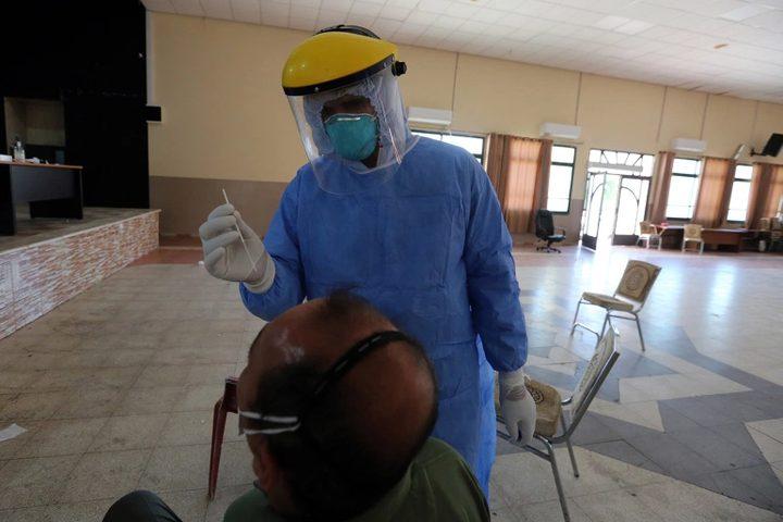 لجنة طوارئ نابلس: إزدياد ملحوظ بأعداد الاصابات بكورونا