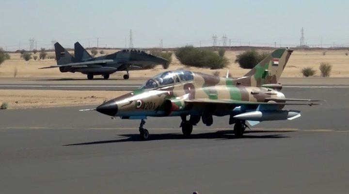 السودانيعلن عن نوعية مقاتلاته التي ظهرت مع الجيش المصري