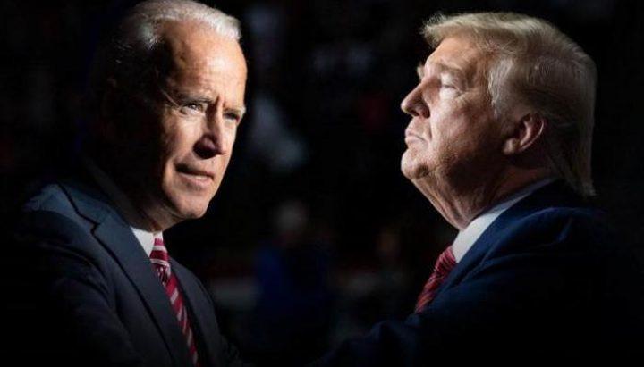 شاهد مشاجرة بين مؤيدي ترامب و بايدن