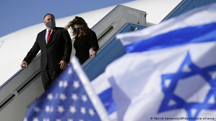 حزب يوناني يدين زيارة بومبيو لمستوطنة بالضفة ولهضبة الجولان