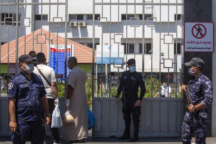 غزة: توقيف 10 مصابين بفيروس كورونا و9 مخالطين