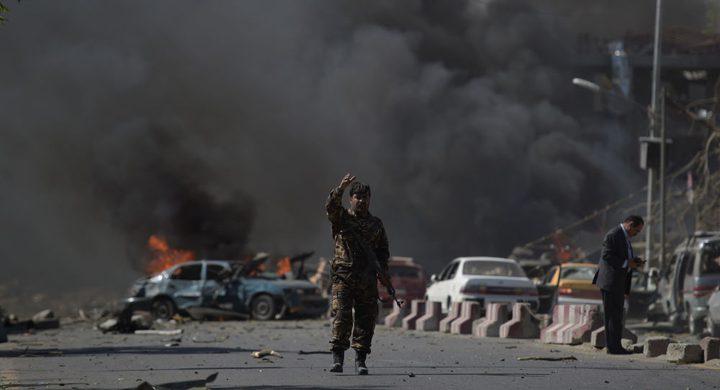 3 قتلى و 10 اصابات في سلسلة انفجارات هزت كابول