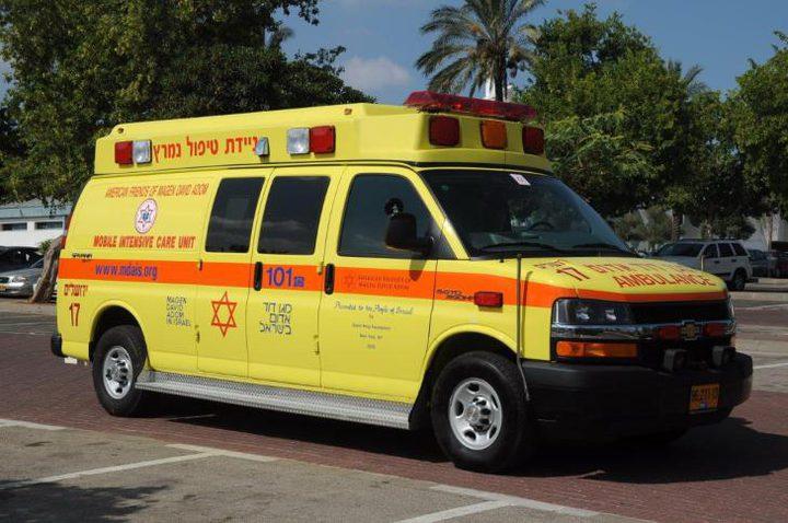 إصابة خطيرة لشاب اثر حادث سير قرب كفر مندا