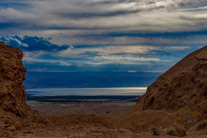 سلسلة مطلات البحر الميت في أريحا تصوير : محمود معطان
