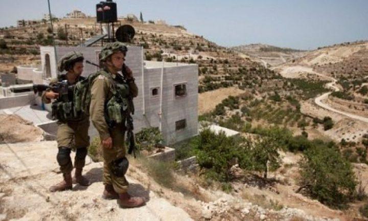 الاحتلال يخطر بوقف العمل ببئر مياه جنوب بيت لحم