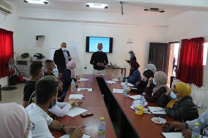 """أريحا: افتتاح المعسكر التدريبي البيئي """"شباب من أجل تنمية مستدامة"""""""