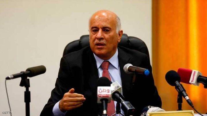 الرجوب يطلع السفير أبو علي على آخر التطورات المتعقلة بالمصالحة